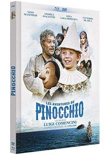 Pinocchio [Édition Mediabook Collector Blu-ray   DVD]
