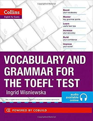 Vocabulary and Grammar for the TOEFL Test  Collins English for the TOEFL Test