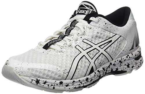 ASICS Gel-Noosa Tri 11, Chaussures de Running Homme, Multicolore White/Black, 43.5 EU