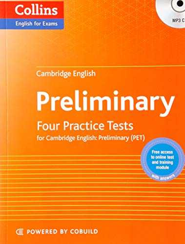 Practice Tests for Cambridge English  Preliminary  PET  Collins Cambridge English