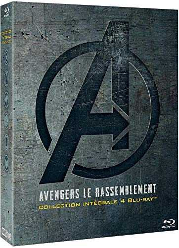 Avengers Le Rassemblement-Collection intégrale 4 Films [Blu-Ray]