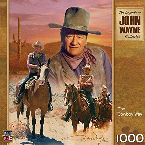 MasterPieces John Wayne - The Cowboy Way 1000 pc Puzzle
