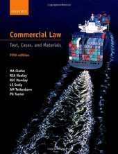 Clarke, M: Commercial Law (Blackstone's Statutes)