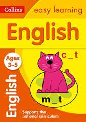 English Ages 3-5: New Edition (Collins Easy Learning Preschool)