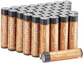 AmazonBasics Lot de 36 piles alcalines Type AAA 1,5 V 1340 mAh (design variable)