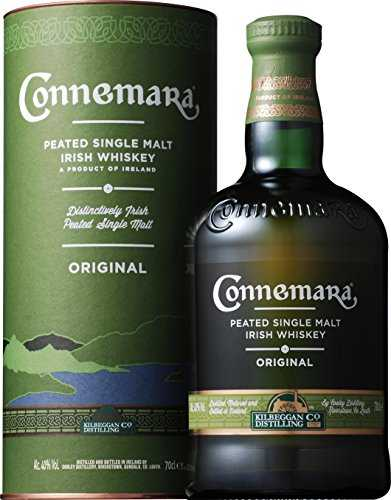 Connemara Original Peated Single Malt Whiskey Irlandais, Single Malt Tourbé (1 x 0.7l)