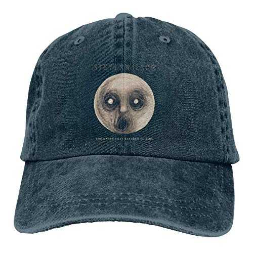 Steven Wilson The Raven That Refused to Sing Fashion Unisex Baseball Cap Funny Travel Cowboy Hat Navy