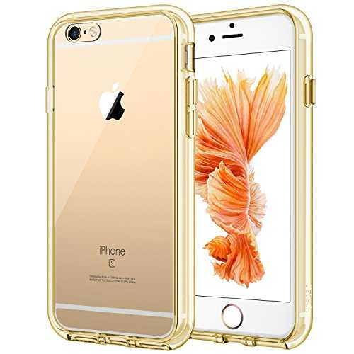 JETech Coque pour iPhone 6s et iPhone 6, Shock-Absorption et Anti-Rayures, Or