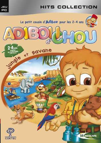 Adiboud´chou : jungle et savane - hits collection