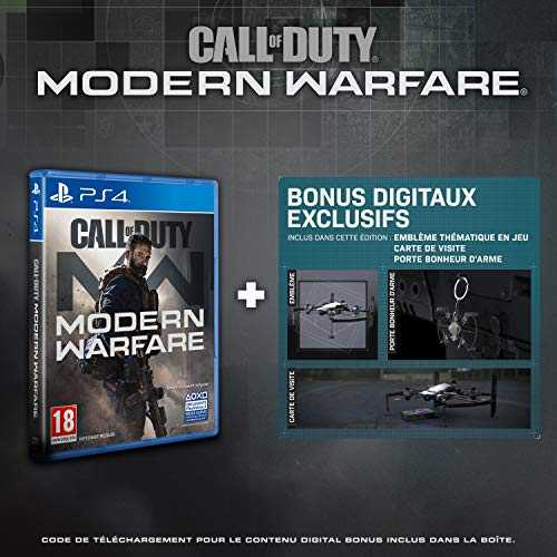 Call of Duty: Modern Warfare - Edition Exclusive Amazon (PS4)