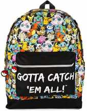 Pokemon Gotta Catch Em All Large Kids Sac à dos pour enfants Sac d'école