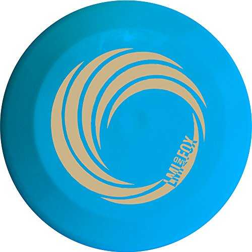LMI and FOX 91918 Frisbee Mixte Enfant, Bleu/Rouge/Blanc/Noir/Jaune