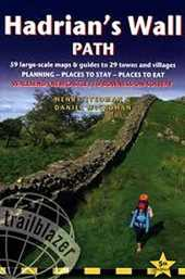 Hadrian´s Wall Path: 59 Large-Scale Walking Maps & Guides to 29 Towns and Villages - Planning, Places to Stay, Places to Eat - Wallsend (Newcastle) to Bowness-on-Solway