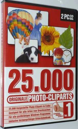 25.000 Photocliparts Vol. 1