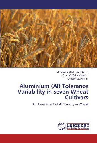 Aluminium (Al) Tolerance Variability in seven Wheat Cultivars: An Assessment of Al Toxicity in Wheat