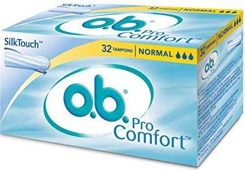 Johnson & Johnson – O.B. Pro Comfort Tampons 32 PCS Normal by