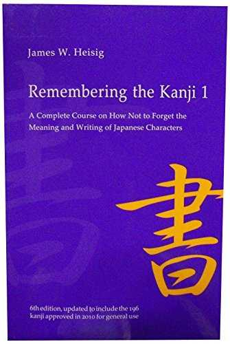 Remembering the Kanji 1