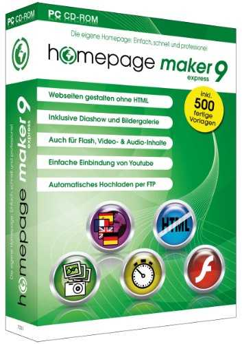 homepage maker 9 Express