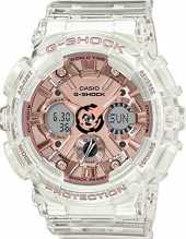 G-Shock GMAS120SR-7A. One Size Transparent/or rose.