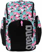 arena Team 45 Backpack Allover Sac à Dos de Natation, Unisexe Adulte Taille Unique Yeux