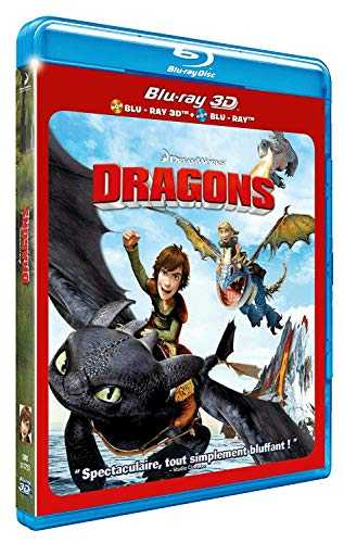 Dragons 3D + Blu-Ray 2D