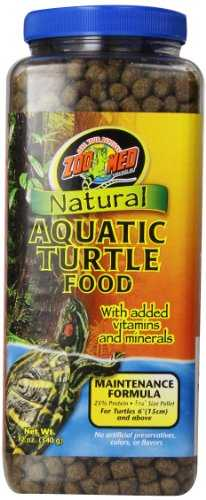 Zoo Med Natural Alimentation pour Tortue d'eau Maintenance Formula 340 g