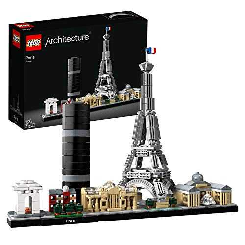 LEGO- Paris Architecture Jeux de Construction, 21044, Multicolore