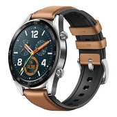 Huawei Watch GT Fashion - Reloj (TruSleep, GPS, monitoreo del ritmo cardiaco), Marrón