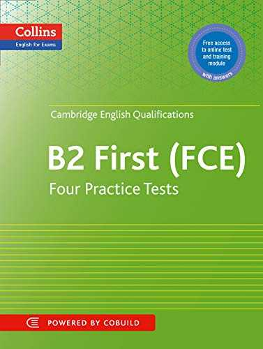 Practice Tests for Cambridge English  First  FCE  Collins Cambridge English