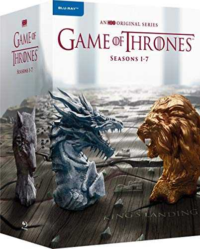 Game of Thrones: Die kompletten Staffeln 1-7 (EU Import mit Deutscher Sprache)