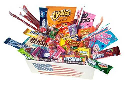 STOCK EN FRANCE lot de 10 x snacks bonbon americain import etats unis box pas cher kit melange confiserie friandises americains nerds bonbons
