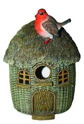 Vivid Arts Bird Care en Osier Robin Birdhouse