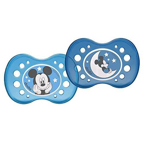 dodie Sucette Anatomique Duo Mickey Nuit A75 18+ Mois
