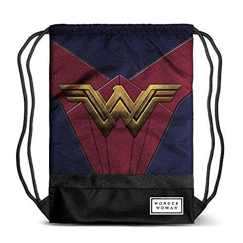 Karactermania Wonder Woman Emblem-sacca Storm Poche supplémentaire, 48 cm, Multicolore (Multicolour)