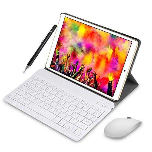 (2019) Tablette Tactile 10 Pouces IPS 1920x1200 HD - 3Go RAM 64Go ROM 4G Android 8.1 Tablet PC Quad Core Batterie 8000mAh Double SIM Double Caméra WiFi,Bluetooth,GPS,OTG (Or)