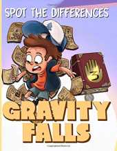 Gravity Falls Spot The Difference: Gravity Falls Stress-Relief Picture Puzzle Activity Books For Adults, Boys, Girls
