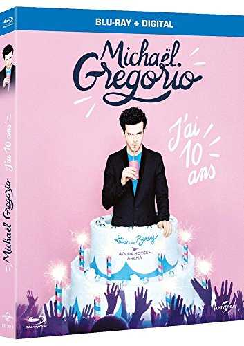 Michaël Gregorio-J'Ai dix Ans [Blu-Ray   Copie Digitale]