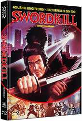 Swordkill - Ghost Warrior [Blu-Ray+DVD] - uncut - limitiertes Mediabook Cover A