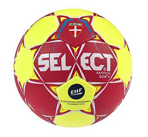SELECT Match Soft Ballon de handball I rouge/Jaune I junior(2)