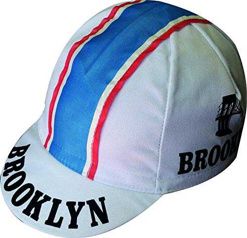 Apis Cappellino Ciclismo Team Vintage Brooklyn Bianco Cycling cap HOSTED BY PRO´ Line