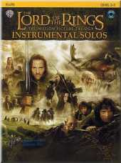 The Lord of the Rings Instrumental Solos Flute Sheet Music
