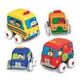 Pull-Back Vehicles: Baby Play - K´s Kids