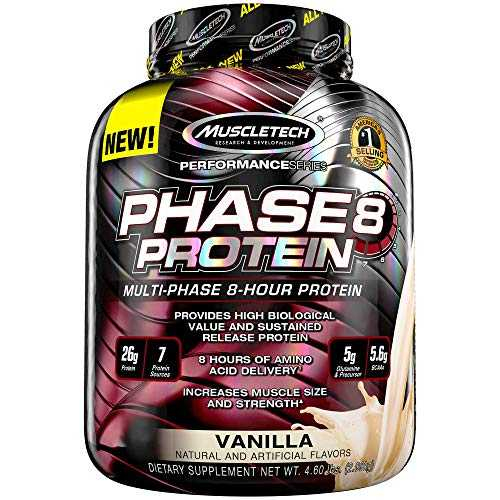 Phase 8 - 2 kg - Vanille - Muscletech