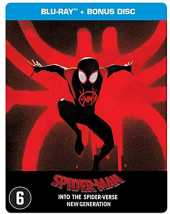 Man : Into The Spider Verse-Edition Steelbook + 1 Disque Bonus [Blu-Ray]