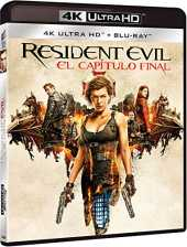 RESIDENT EVIL 6: EL CAPITULO FINAL (4K UHD   BD) [Blu-ray]