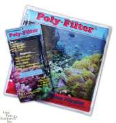 Poly Bio Marine Products APMPF 4 po x 8 po Poly Filter Pad
