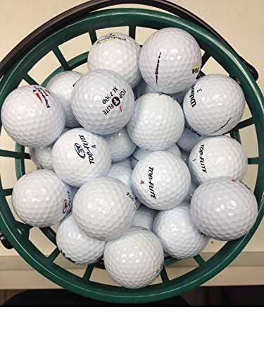 Lot de 100 balles de Golf Assorties AAA/AA