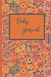 Daily Journal: Mosaic 6x9 Lined Blank Notebook