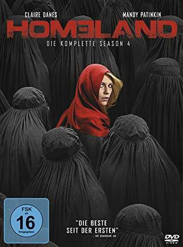 Homeland - Die komplette Season 4 [4 DVDs]