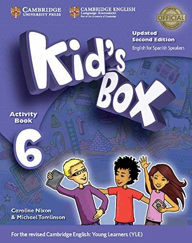 Kid's Box Level 6 Activity Book with CD ROM and My Home Booklet Updated English for Spanish Speakers Second Edition - Pack de 3 libros - 9788490365199